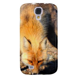 Red Fox Habitat iPhone 3G Case Galaxy S4 Covers