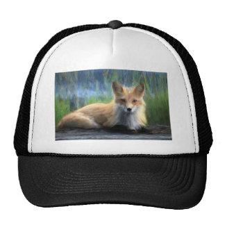Red Fox Mesh Hats