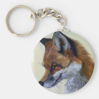Red Fox (head study) Keychain