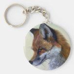 Red Fox (head study) Keychains