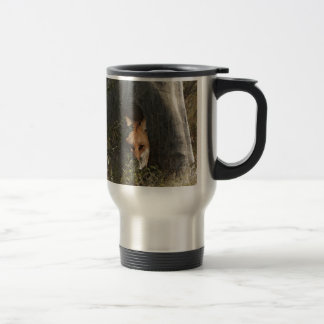 Red Fox in a Tree Gifts and Apparel Mugs