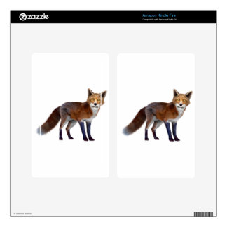 Red Fox Kindle Fire Skins