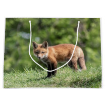 Red Fox Kit Large Gift Bag