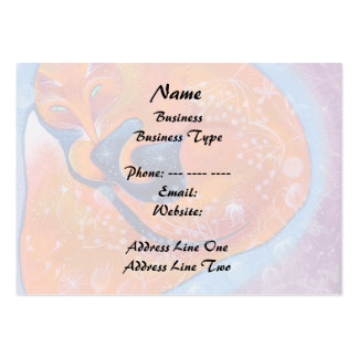 Red Fox. Large Business Card
