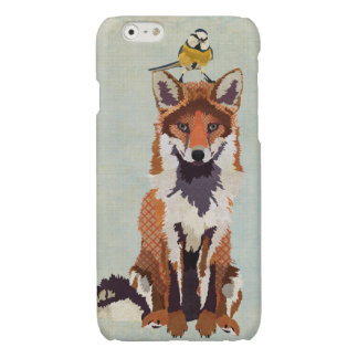 Red Fox & Little Bird Glossy iPhone 6 Case