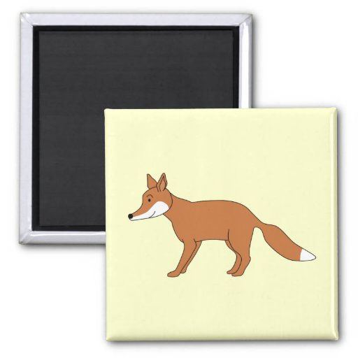 Red Fox. Magnets