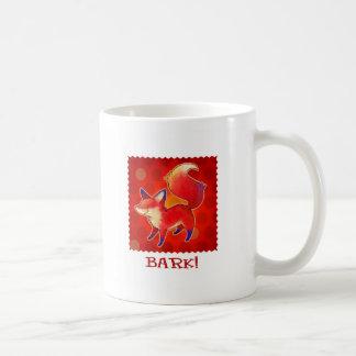 Red Fox Mug(right handle) Coffee Mug