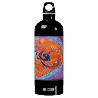 Red Fox. On Black. SIGG Traveler 1.0L Water Bottle
