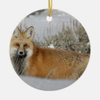 red fox ornaments