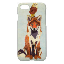 Red Fox & Owl iPhone 7 Case