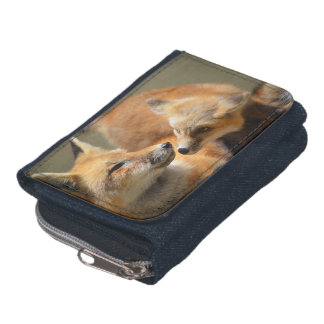Red Fox Pair Wallets