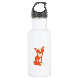 Red Fox 18oz Water Bottle