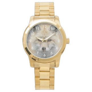 Red Fox Photo Wrist Watch