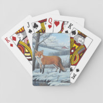 Red Fox Playing Cards