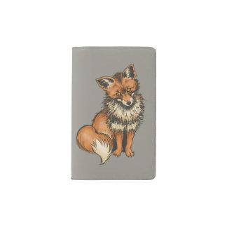 Red Fox Pocket Moleskine Notebook