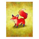 Red Fox Postcard