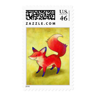 Red Fox Stamp