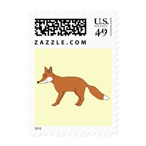 Red Fox. Stamps