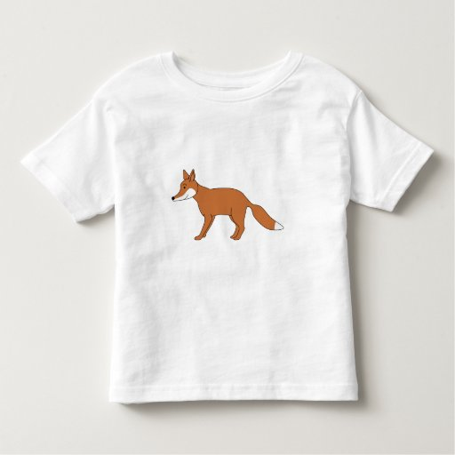 Red Fox. Toddler T-shirt