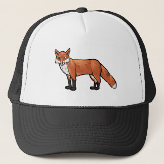 Red Fox Trucker Hat