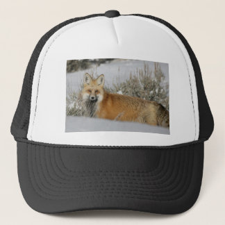 red-fox WIld Animal Gift idea Trucker Hat