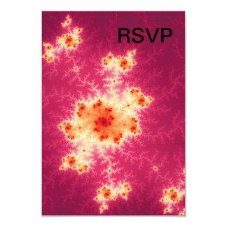Red Fractal Custom Invite