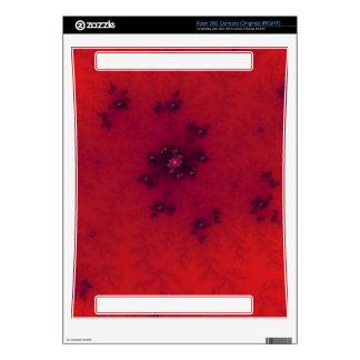 Red Fractal Xbox 360 Skin