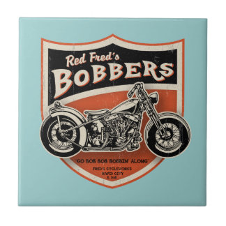 Red Fred s Bobbers Ceramic Tiles