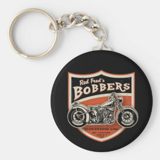 Red Fred's Bobbers Keychain
