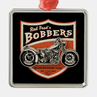 Red Fred's Bobbers Metal Ornament