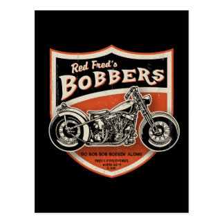 Red Fred's Bobbers Postcard