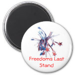 RED, Freedoms Last Stand Magnets