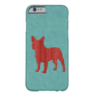 Red French Bulldog Barely There iPhone 6 Case