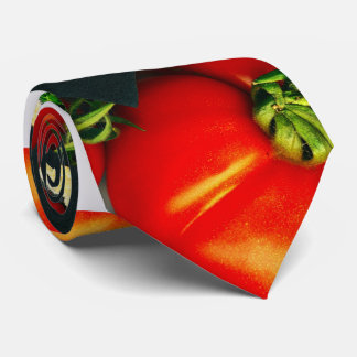 Red Fresh Tomatoes Tie