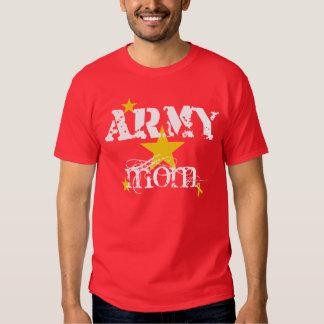 RED FRIDAY ARMY Mom Tee Shirt
