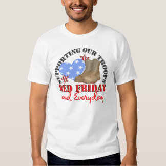 Red Friday Everyday Tee Shirt