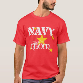 RED FRIDAY NAVY Mom T-Shirt