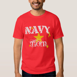 RED FRIDAY NAVY Mom T-shirts