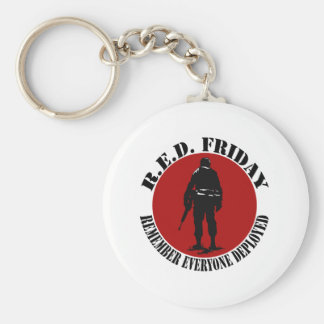 RED FRIDAY - REMEMBER EVERYONE DEPLOYED KEYCHAIN
