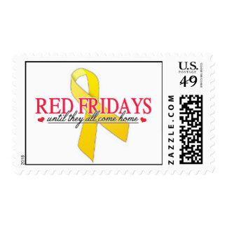 Red Fridays Postage