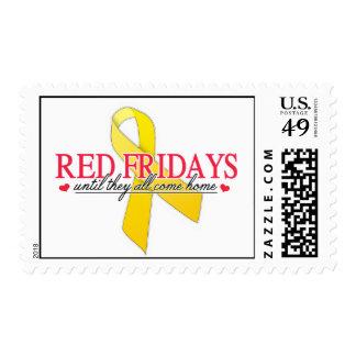 Red Fridays Postage