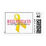 Red Fridays Postage Stamp