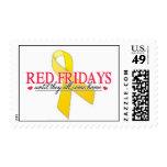 Red Fridays Stamp