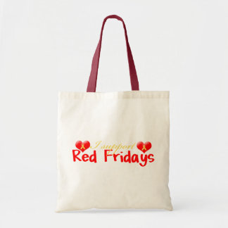 Red Fridays Tote Bags