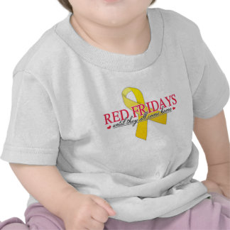 Red Fridays T Shirts