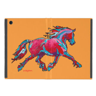 Red Friesian iPad Mini case