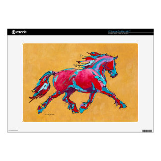 Red Friesian Laptop Skin