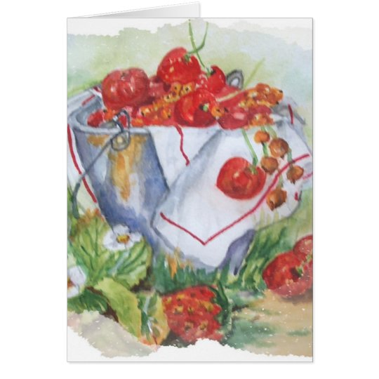 RED FRUIT CARD
