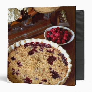 Red fruit crumble For use in USA only.) 3 Ring Binder