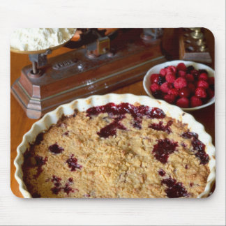 Red fruit crumble For use in USA only.) Mouse Pad